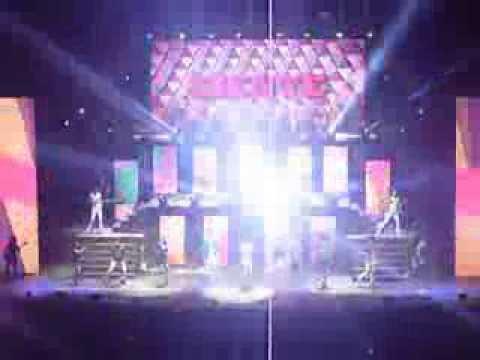 Comienzo de Violetta en vivo México 10/11/13 primera parte