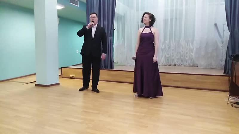Adagio. Альбинони. Снежана Кох и Григорьев Николай.