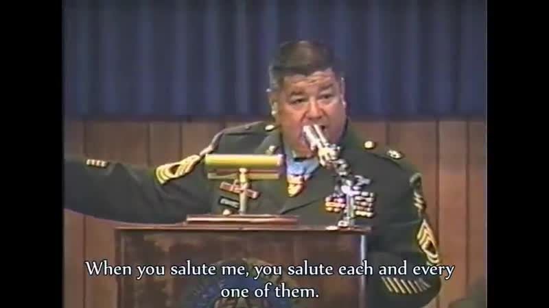 MSGT Roy Benavidez Message To America