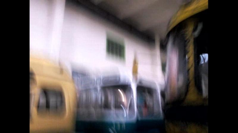 12 08 2018 залез в старинный трамвай, потом по быстрому посмотрел троллейбус