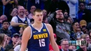 Jokic Throws Unbelievable One Handed Full Court Dime Like NFL QB