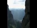 Экстремальный отдых в горах Шанхая, Китай