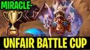 Unfair Battle Cup To The Enemies - Miracle- Ursa 7.18 - Dota 2