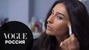 Тамуна Циклаури показывает, как сделать быстрый макияж