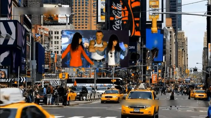 New York с тигром