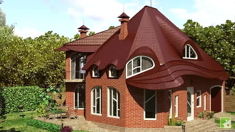 Проект кирпичного дома где искать качество и надежность