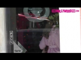 HD: Джессика на съемках рекламы в Лос-Анджелесе (1 августа 2018)