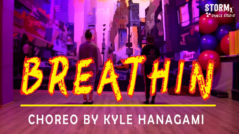 ALENA T. NC.A | ARIANA GRANDE - Breathin | DANCE COVER | Choreography by Kyle Hanagami