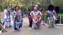 Эти ребята так бодренько зажигают. Индейцы Перу в Москве.