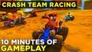 Crash Team Racing Nitro Fueled GAMEPLAY Three Remastered Tracks