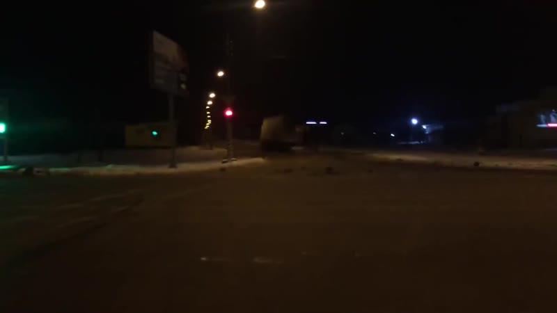 ДТП в Энгельсе с участием двух грузовиков