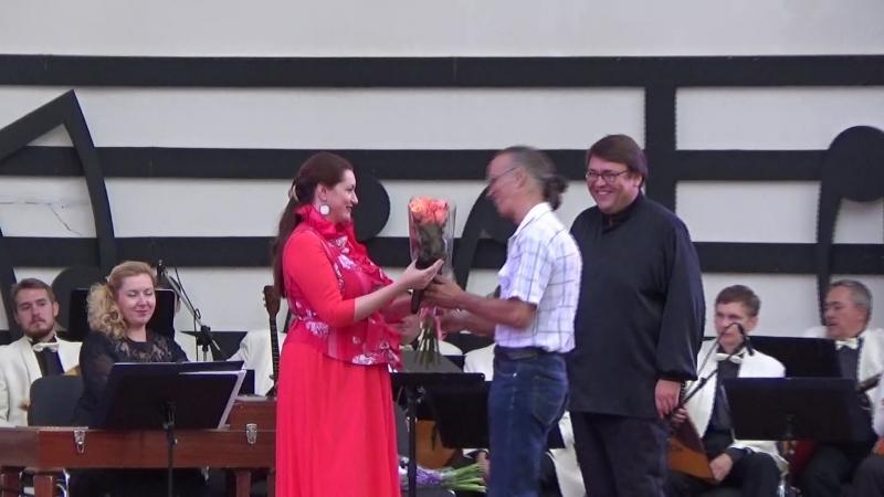 Ирина Крутова на Романсиаде в Сокольниках 09.09.2018г.