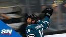 Joe Thornton Scores 400th Career Goal Gives Sharks Lead