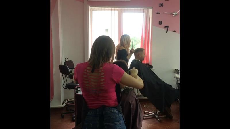 Мужской день в нашей парикмахерской