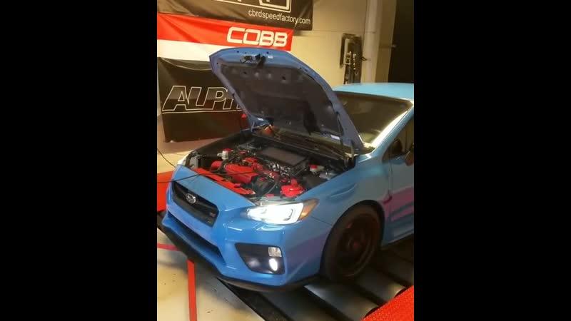 Dyno test Subaru WRX STI