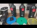 Восстановительная полировка полировальной системой Rupes (италия)жидкое стекло от Koch (гемания)