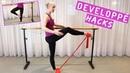 BEST TIPS TO GET A HIGHER DEVELOPPÉ!
