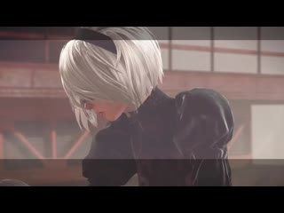 NieR- Automata - All Bosses (Route A) [No Damage] by Gellot