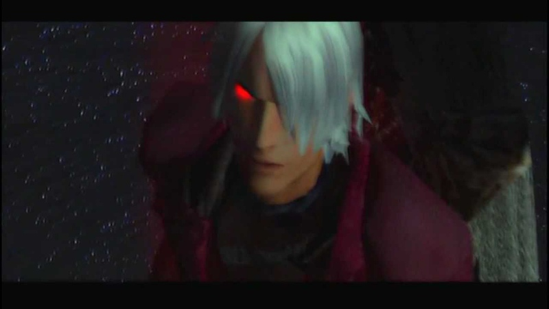 Devil May Cry HD Collection - Dante confronts Mundus