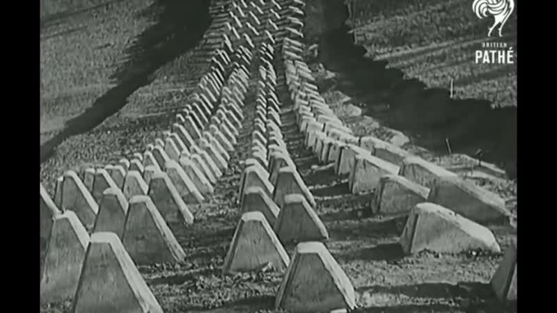 Siegfried Line (Westwall), 1936-1940. Линия Зигфрида