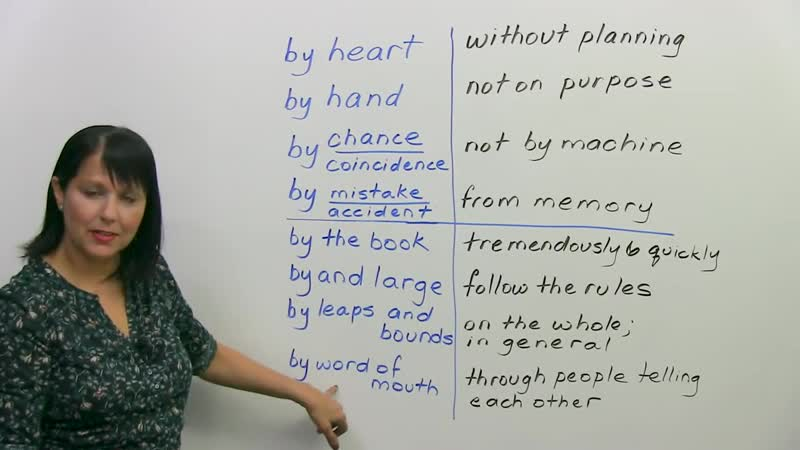 8 English Idioms to learn BY heart