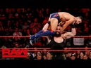 Braun Strowman Finn Bálor vs Kevin Owens Constable Baron Corbin Raw June 18 2018