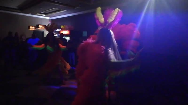 Бразильский карнавал с интерактивом ЭЛИКСЭ