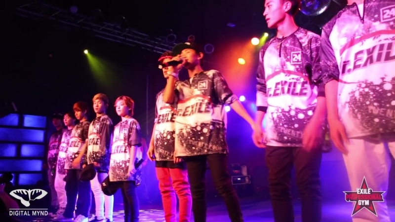 PERFORMANCE BY JR EXILE