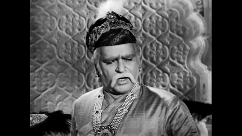 Великий Могол / Mughal-e-Azam 1960г.(Черно-белая, полная версия)
