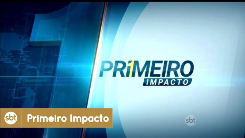 Jornalismo SBT: Confira a nova vinheta do jornal Primeiro Impacto (SBT, 2016) - HD