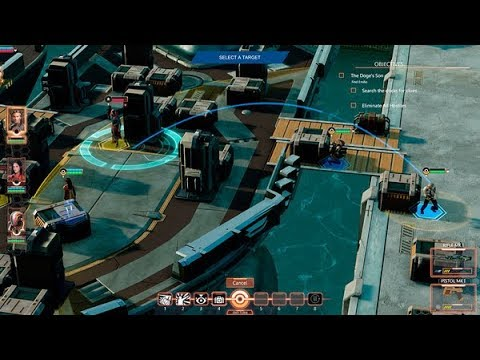 ELEMENT SPACE Teaser Trailer Gameplay Features New SciFi Tactical Squad RPG 2018