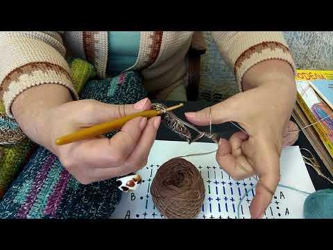 Творческие секреты О.С. Литвиной о вязании крючком. Мастер класс по технике Пинке.