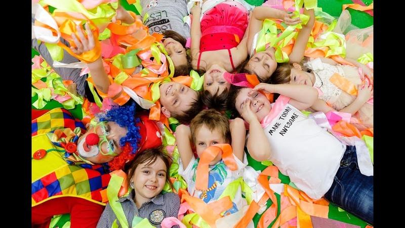День рождения в детском центре Стрекоза