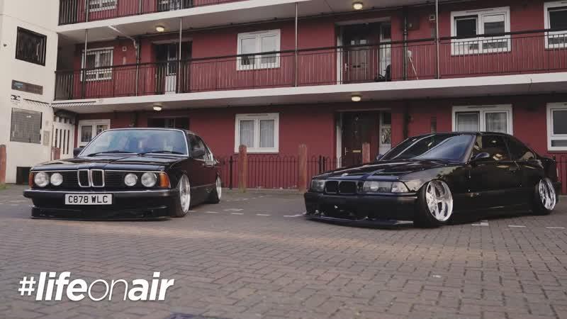 BMW E23 E36 on Air Suspension - LifeOnAir