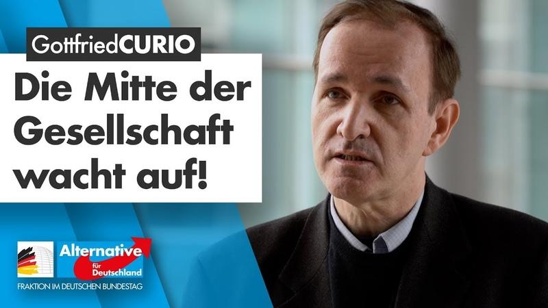 Die Mitte des Volkes ist nicht verloren - nein, sie wacht auf! - Gottfried Curio - AfD-Fraktion