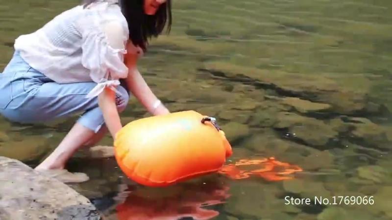 Подводное плавание кемпинг бутылка воды рафтинг Каякинг открытый реки походная поле выживания плавающей Сумка океан пакет XA879W