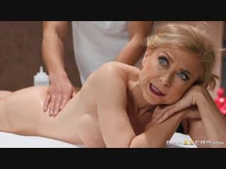 Nina Hartley Milfy Massage [Stockings, Shoes, Milf, Mature, Porn, Massage, Erotic]