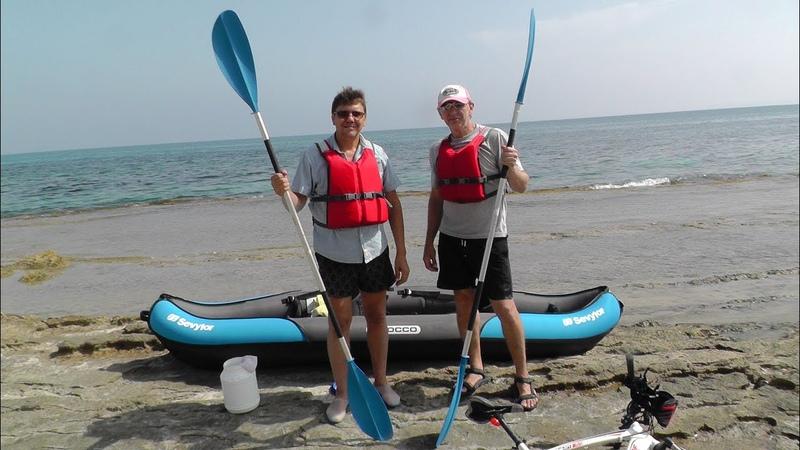 Отдых в Испании, Пошли на Каяке на по средиземному морю