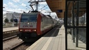 CFL 4015 komt aan op station Luxembourg