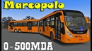 Мод Marcopolo Viale BRT Mercedes-Benz O-500MDA 3736 Voith D884.5 OMSI 2