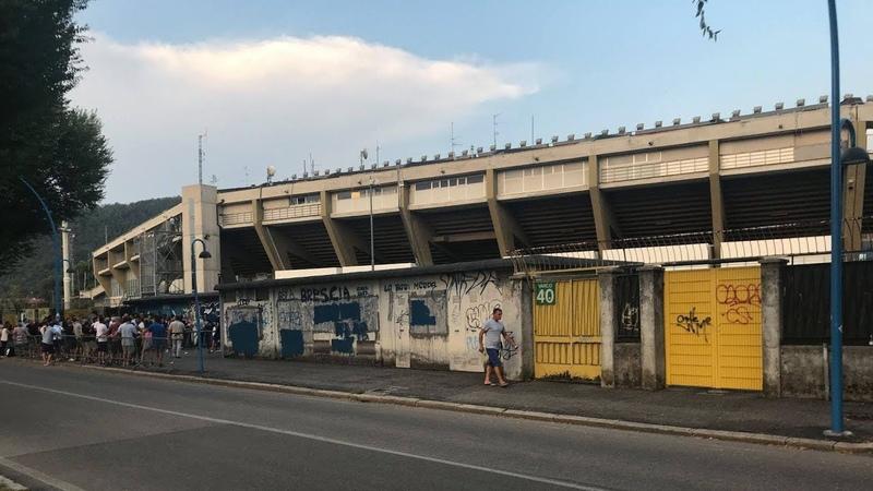 Stadium Guide: Brescia Calcio [Italy]. 2018-08-24