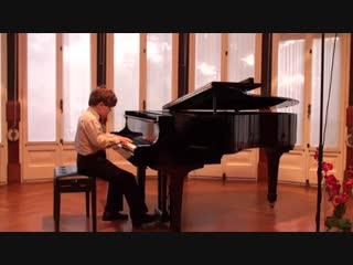 Michael Andreas Haeringer 9 y/o ~ Mozart Piano Sonata K.576 in D major 1 and 2end mov.