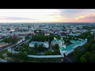 Тёплый и уютный летний Ярославль. Столица Золотого кольца России. AeroPRO