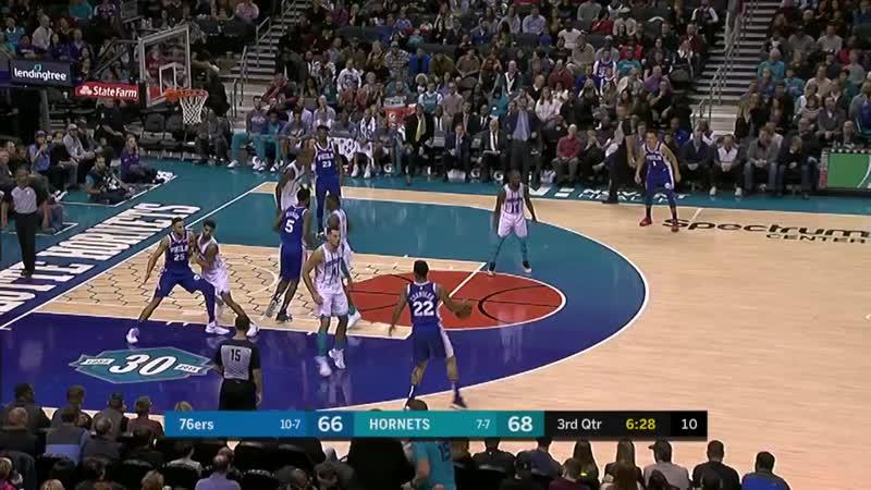 NBA. Sixers - Bobcats. 17.11.18