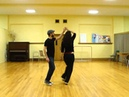Quick demo of moves learned in Beginner Lindy Hop intro lesson at Dalhousie