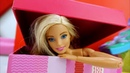 Барби на фотосессии. Видео с игрушками школа гимнастики.
