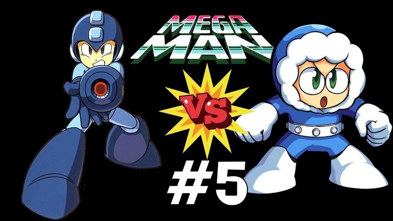 Mega Man VS Ice Man. Прохождение (NES, Dendy)