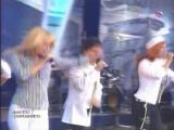 Блестящие &amp Олег Газманов - Морячка (Концерт на Поклонной Горе, 09.05.2004)