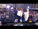 Today Show helped make dreams come true for two lieflong Xtina fans that flew in from Brazil