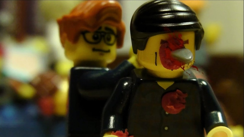 Kingsman: The Secret Service - Church Scene IN LEGO
